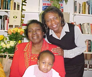 Dr. Small with her Granddaughter and a Friend (26kb)