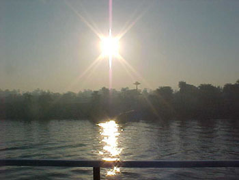 Sunset on the Nile (14kb)