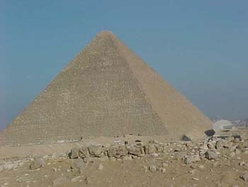 The Great Pyramid of Khufu (12kb)