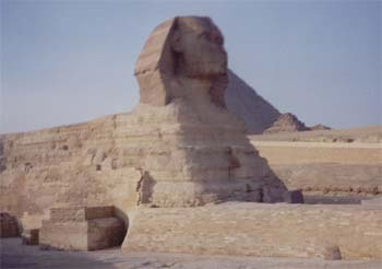 The Great Sphinx of Giza (11kb)