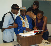 Dr. Oheneba-Sakyi instructs his students