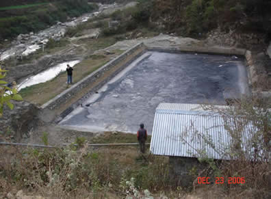 Leachate Treatment Pond in Sisdol Landfill, Nepal