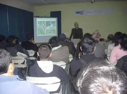 Dr. Dangi presents at USEF-Nepal
