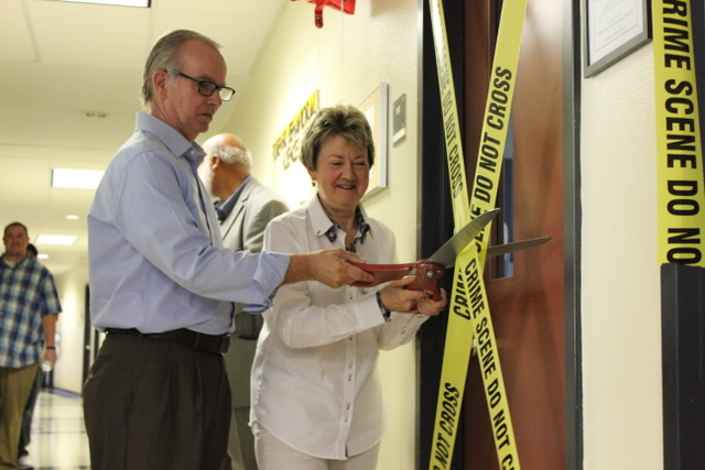 Forensic Lab Opening