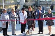 event cutting ribbon