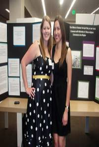 Picture of students at Research Symposium