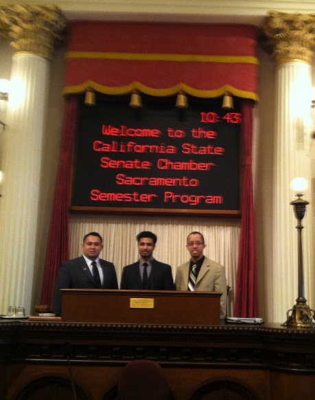 Students Interning in Sacramento